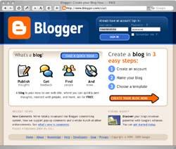 Google's Blogger