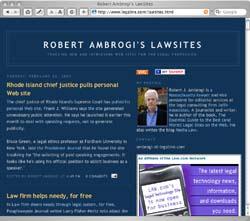 Robert Ambrogi's LawSites