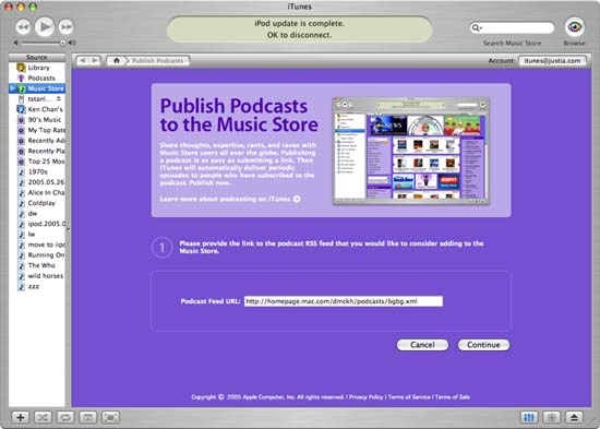 Apple Music Store