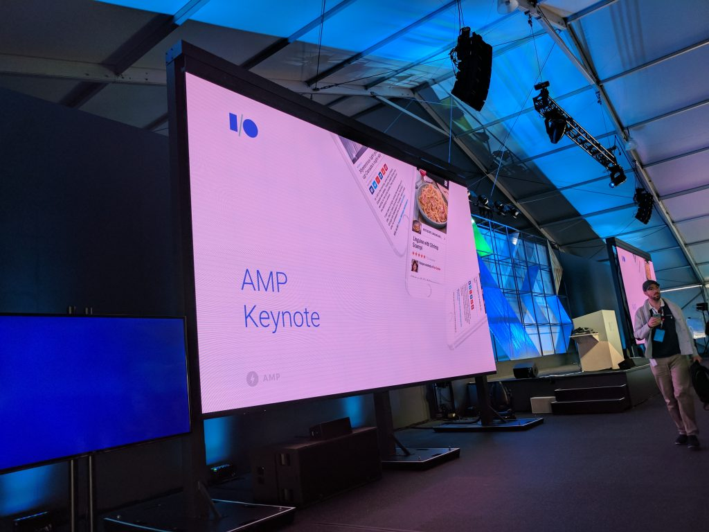 The AMP Keynote — Google I/O 2017 Live Blogs