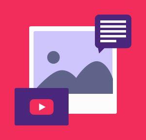 Millennials prefer visual content
