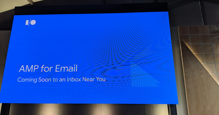 AMP for Email: Coming Soon to an Inbox Near You -- #io19 Live Blogs