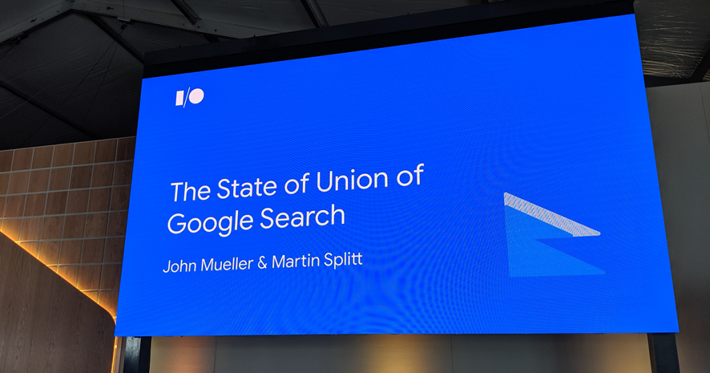 Google Search: State of the Union — #io19 Live Blogs