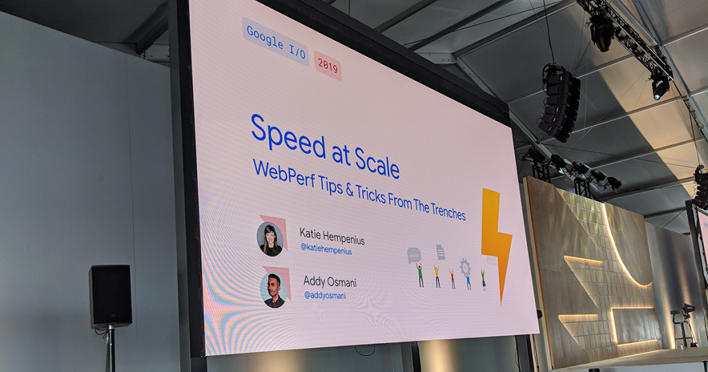 Speed at Scale: Web Performance Tips and Tricks From the Trenches — #io19 Live Blogs