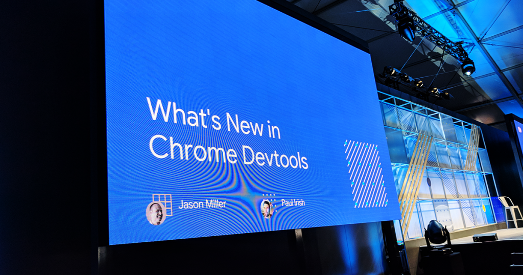 What's New in Chrome DevTools — #io18 Live Blogs