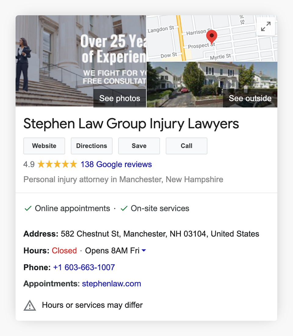 Multiple visual updates to Google results and maps