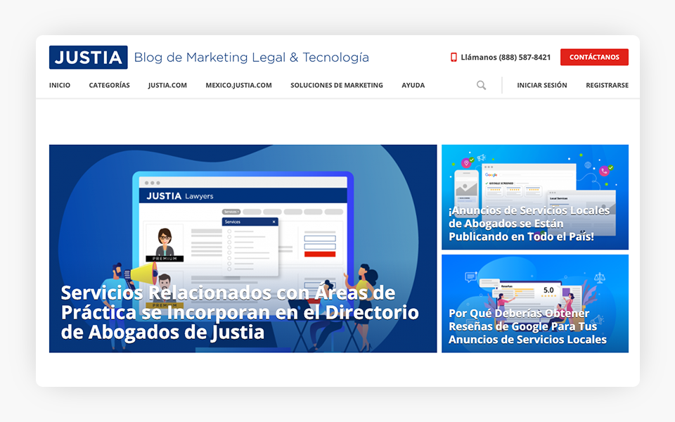 Spanish-Language Version of Justia Onward Blog Launched - Justia Avanza