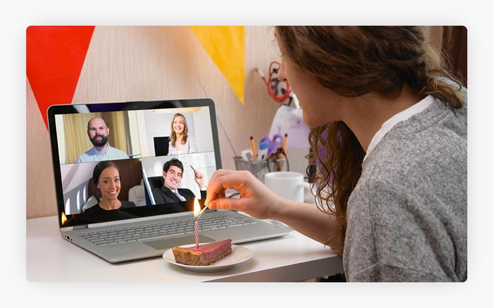 Virtual Socializing during lockdown