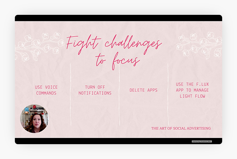 How to Fight Challenges to Focus