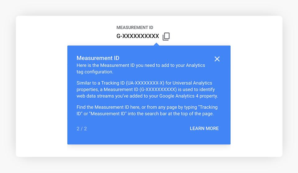 GA4 Measurement ID