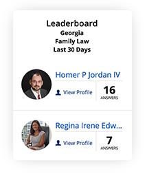 JLD Q&A Georgia Family Law Leaderboard