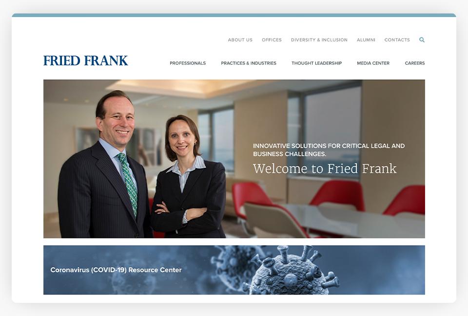 Fried Frank Website