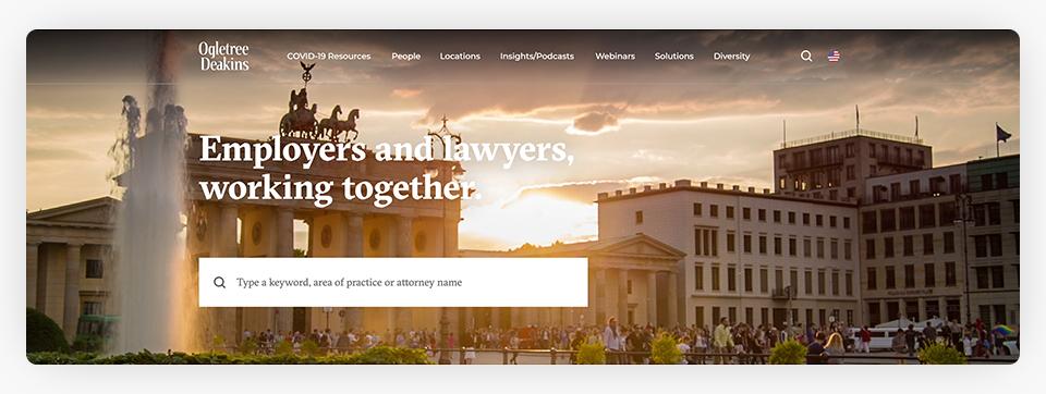 Ogletree Deakins Website