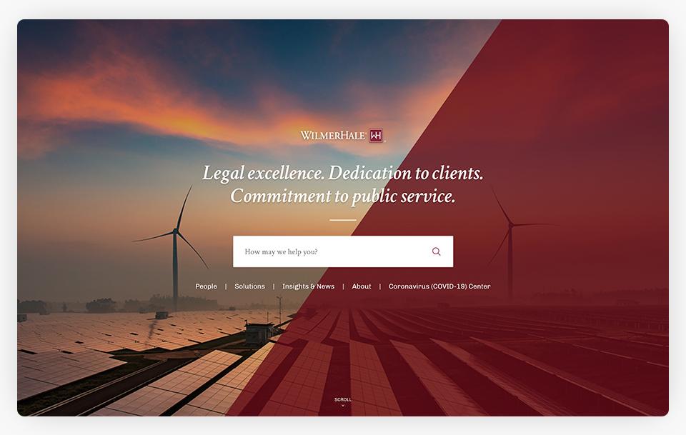 Wilmer Hale Website