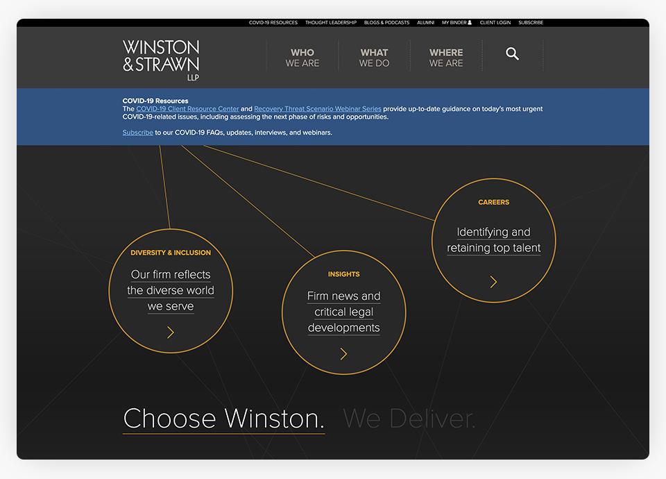 Winston Strawn Website