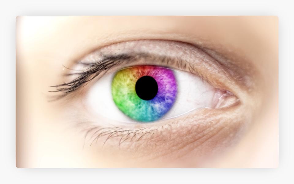 Rainbow Pupil