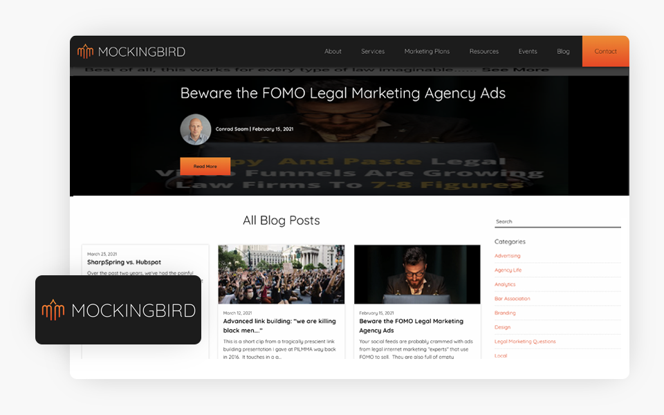 Mockingbird Marketing Blog