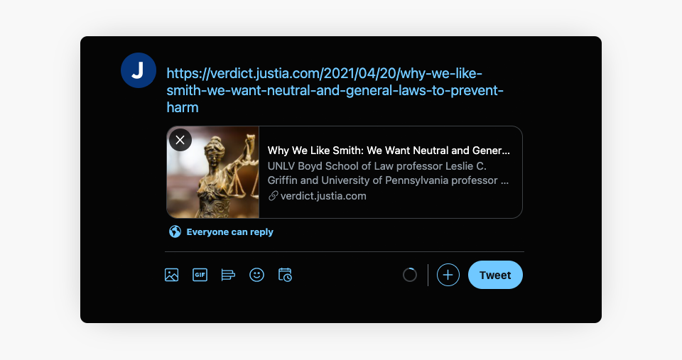 Twitter Small Preview