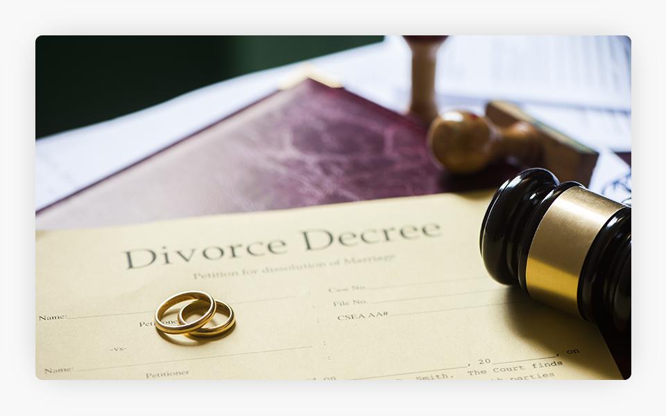 Sentença de divórcio