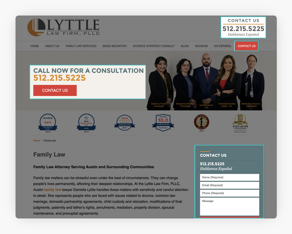 Lyttle Law Firm - Contact Information