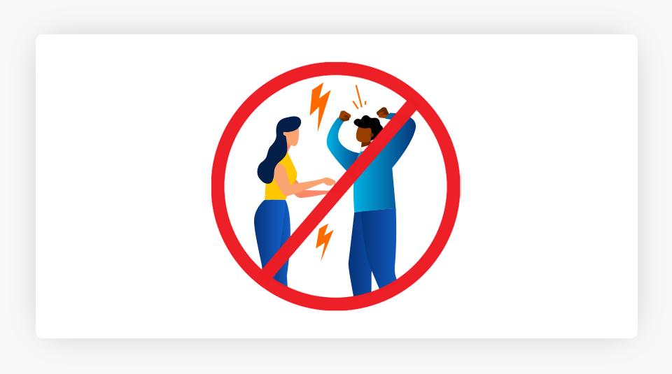 Fighting Prohibited