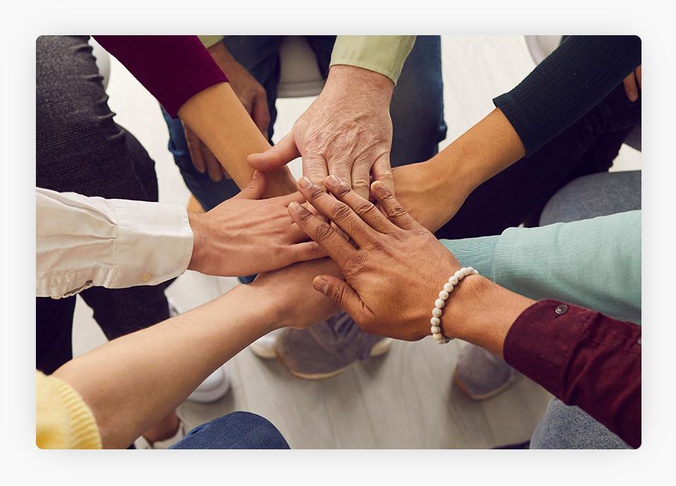 Teamwork - Hands