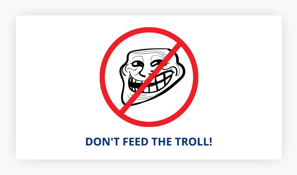 Troll Face Prohibited