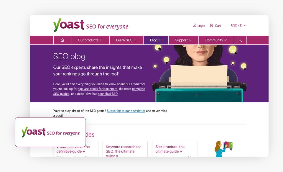 Yoast Blog Homepage