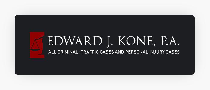 Edward J. Kone, P.A. Logo