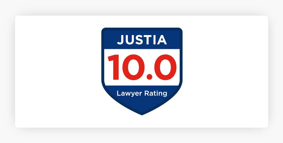 Justia - 10 Badge