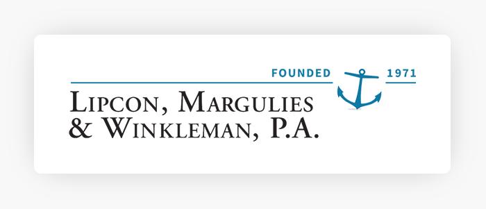 Lipcon, Margulies & Winkleman, P. A. Logo