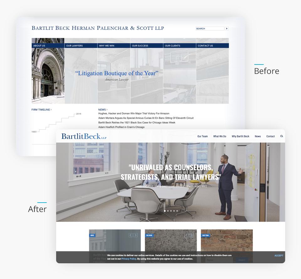 Bartlit Beck Website