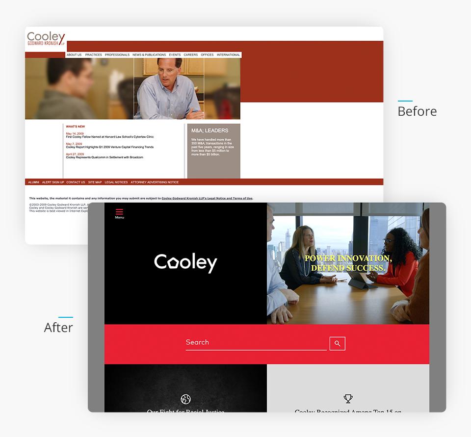 Cooley Websites