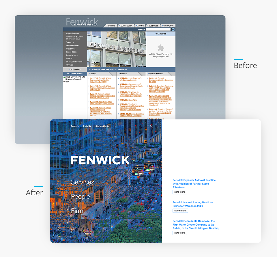 Fenwick Website