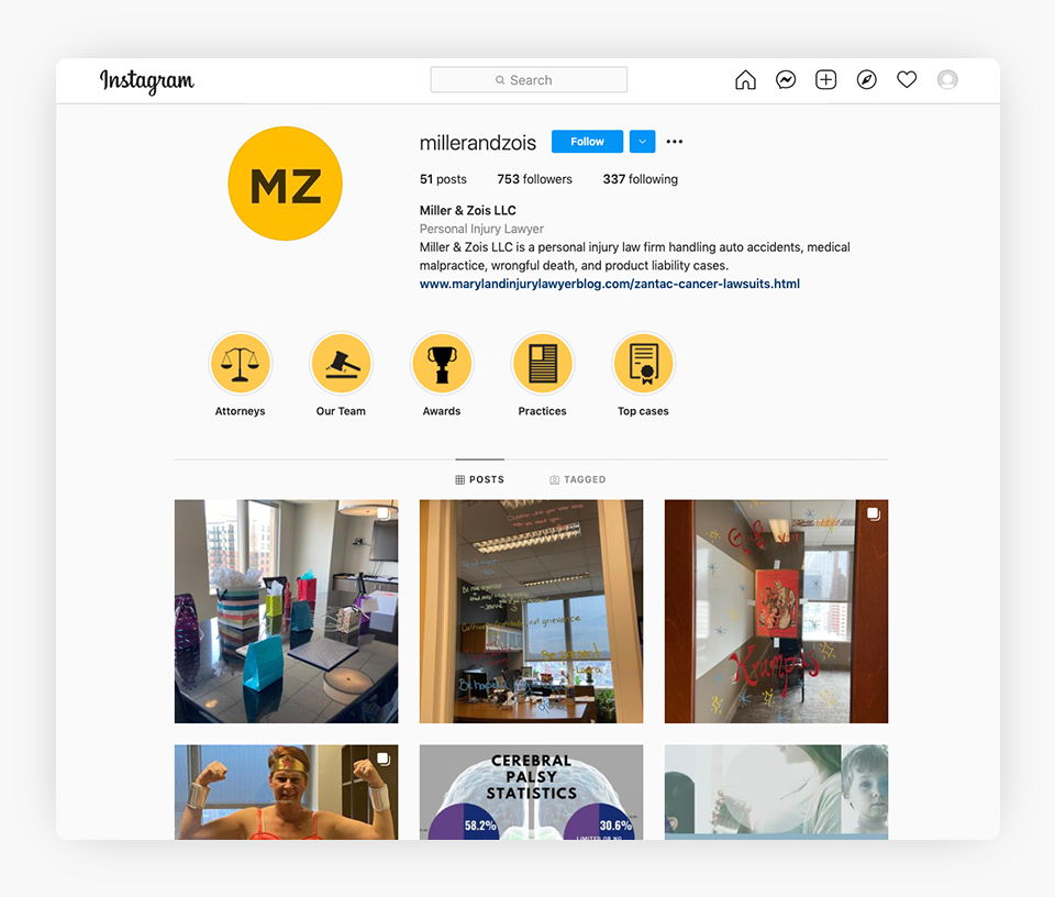 Instagram - Miller And Zois