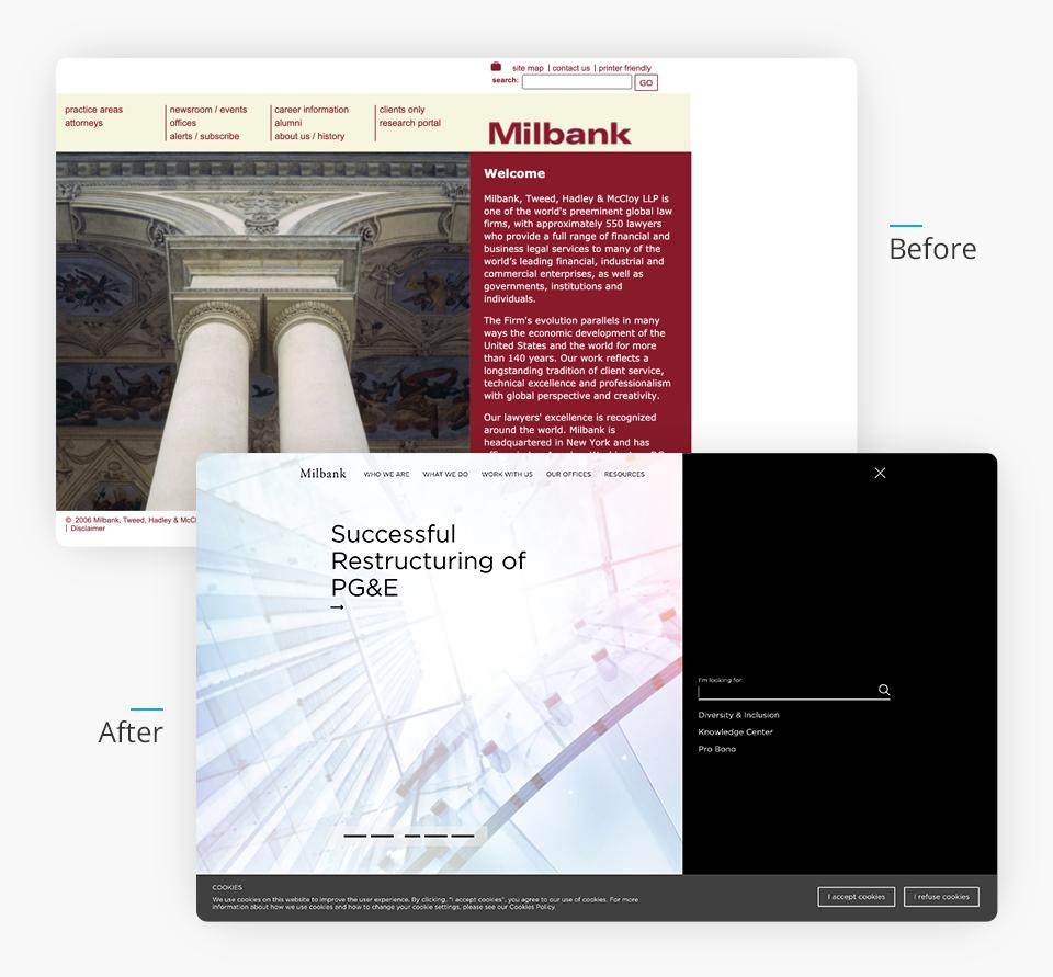 Milbank Website