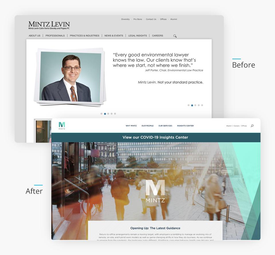 Mintz Website