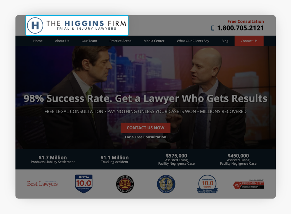 The Higgins Firm