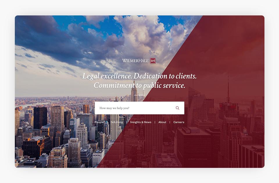 WilmerHale Website
