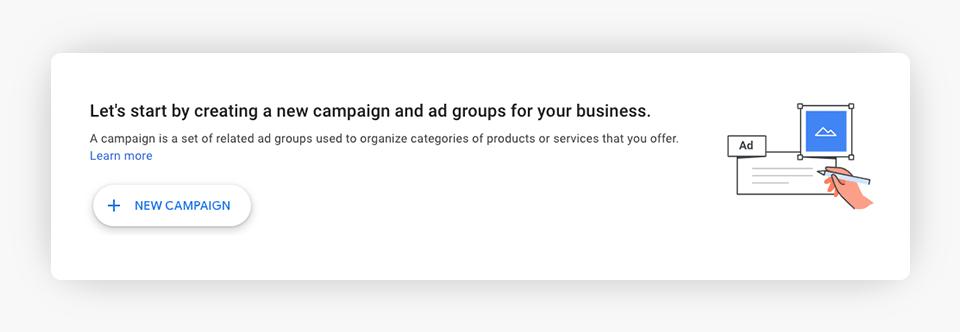 Google Ads - Create Campaign