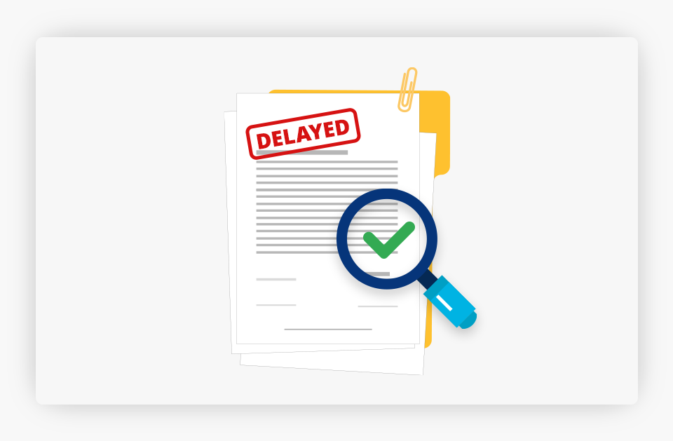 Delayed Paper on Folder