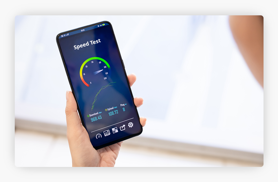 Speed Test - Mobile